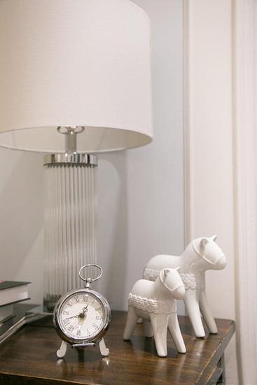 很有艺术感的三居室装修台灯设计