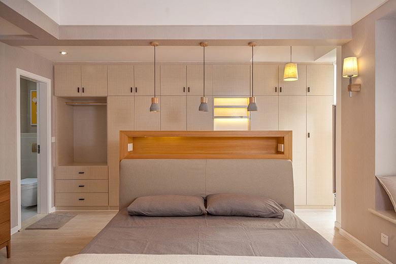 温馨舒适宜家风卧室效果图