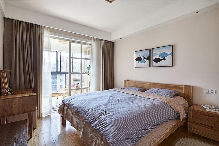 清新舒适简约风格装修卧室设计