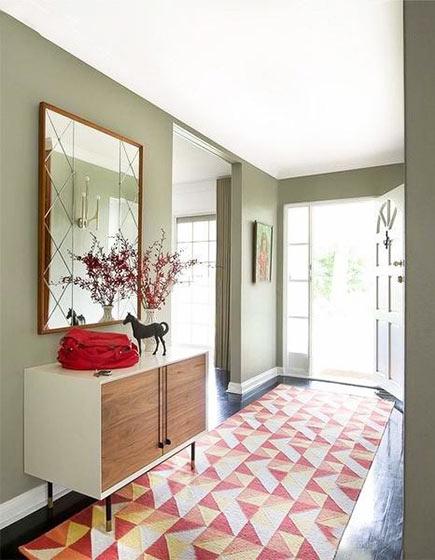 色彩玄关装修装饰效果图