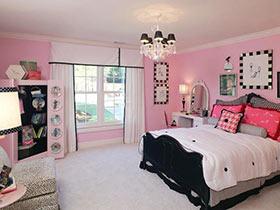 浪漫后的安心  10款粉色系臥室布置實景圖