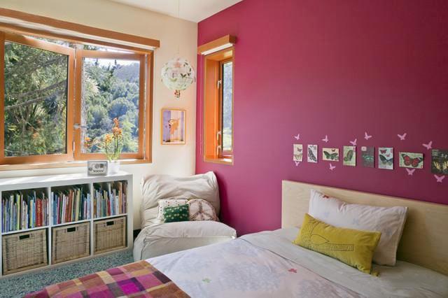 粉色系卧室设计参考图