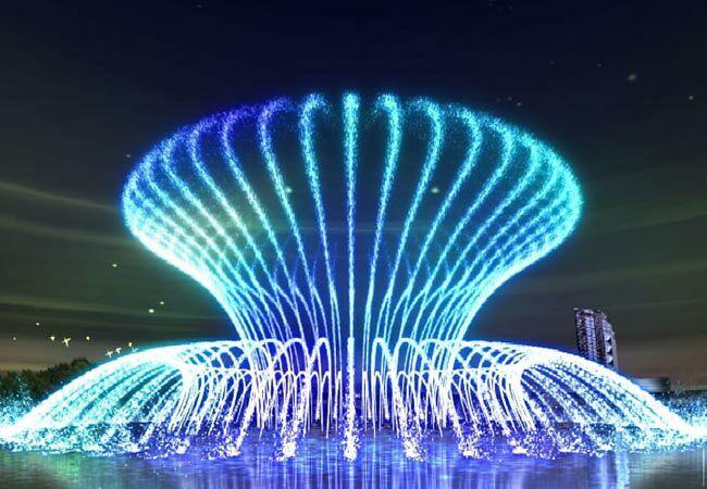 精美摄影 音乐喷泉 - 梅竹 - 梅竹欢迎您