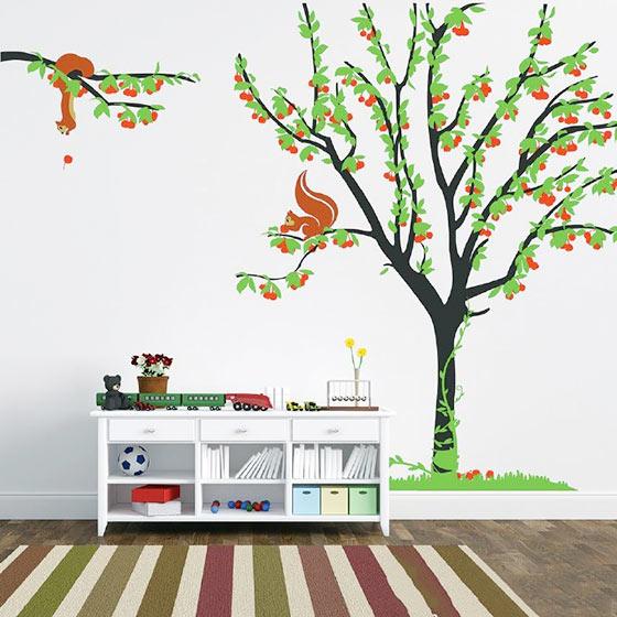 客厅手绘背景墙实景图