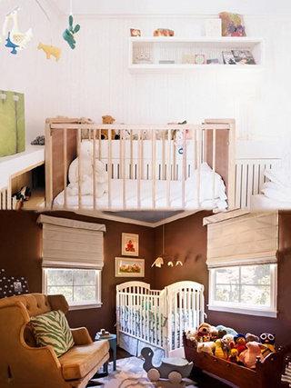 温馨婴儿房设计构造图