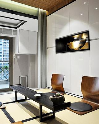 时尚现代中式 休闲茶室装潢设计