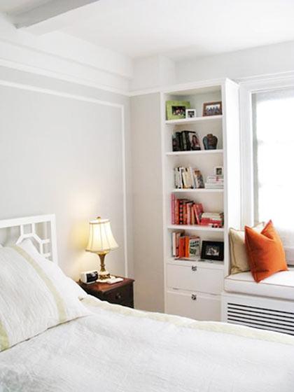 现代混搭卧室设计布置图