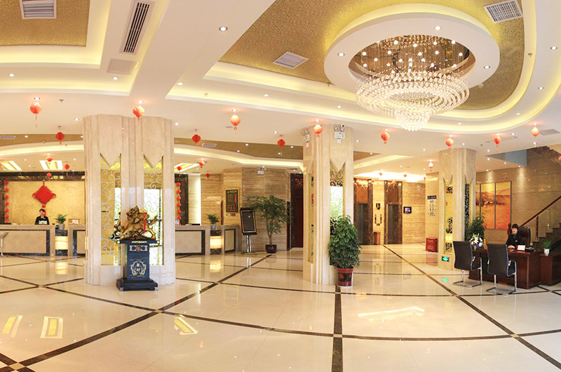 酒店大厅装潢效果图