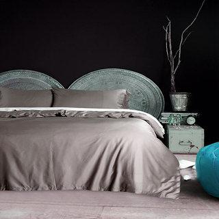 卧室布艺布置摆放图片