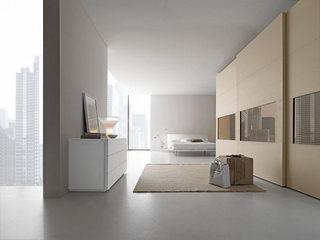极简风格卧室参考布置图