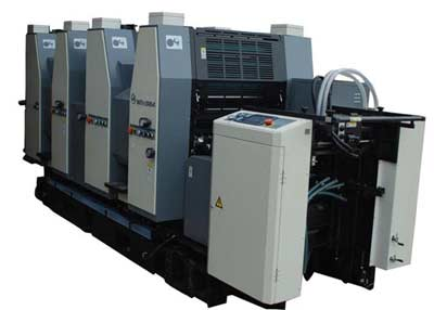 四色膠印機