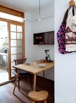 日式和风 原木餐厅效果图