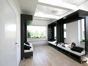 80平米复式装修效果图 个性学习休闲屋