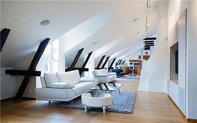 阁楼小客厅设计效果图