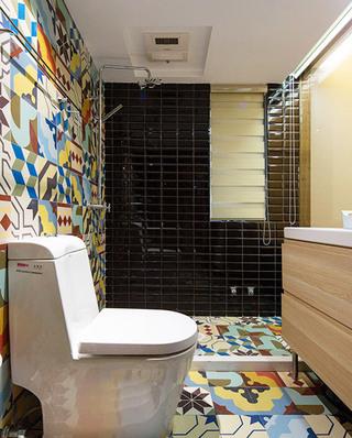 130平现代三居室主卫生间装修设计
