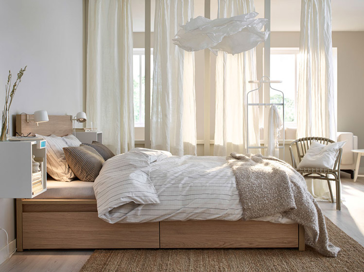 宜家床设计平面图