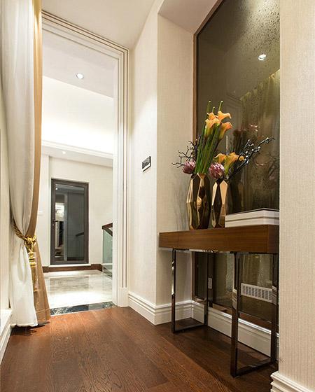 小户型联排别墅门厅装潢设计
