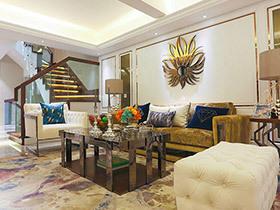 小户型联排别墅样板房装修 低调不失奢华
