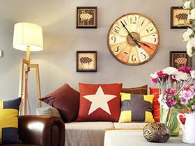 130平现代简约三居室装修 色彩的妙用