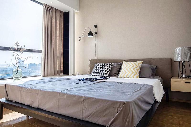 70平现代简约三居主卧室装修