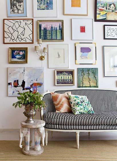 客厅照片墙装饰效果图