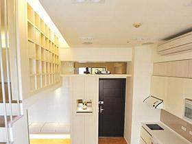温馨日式小LOFT公寓设计 格子控必看