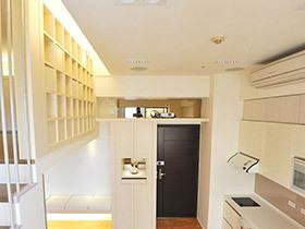 温馨日式小LOFT公寓设计 收纳功能超级强大