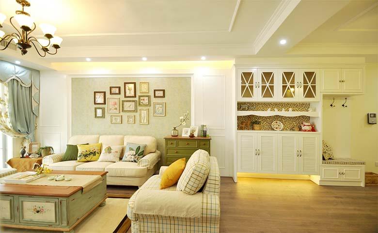 12万两居室装修装饰效果图