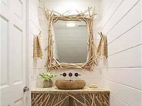 看到整齐的自己  13个卫生间镜子设计图片