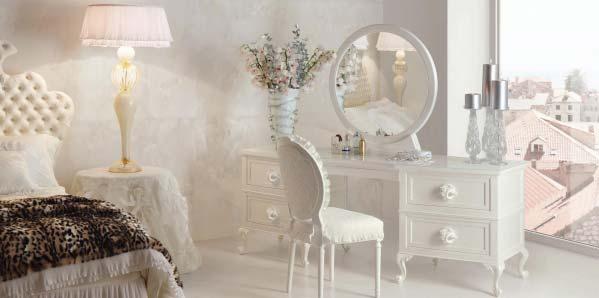 古典风梳妆台装修装饰效果图