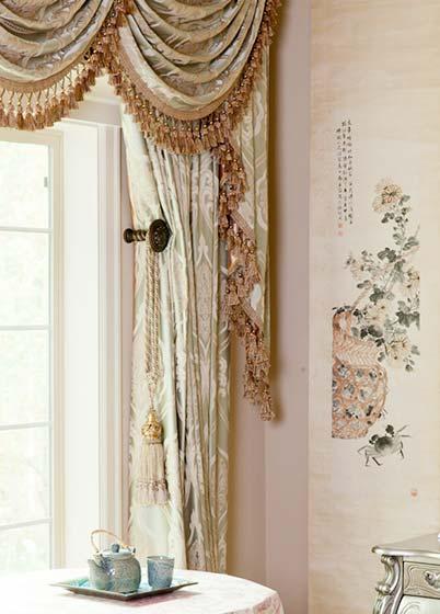 欧美窗帘布艺参考图片-装修效果图案例 2017年装修效果图 齐家网装修图片