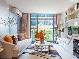 活色生香的空间 彩色loft小公寓让你瞬间爱上