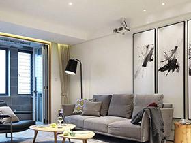 现代简约风格两室两厅装修 简约机能空间