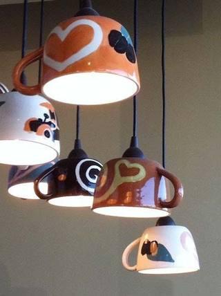 DIY瓶子灯装修设计图片