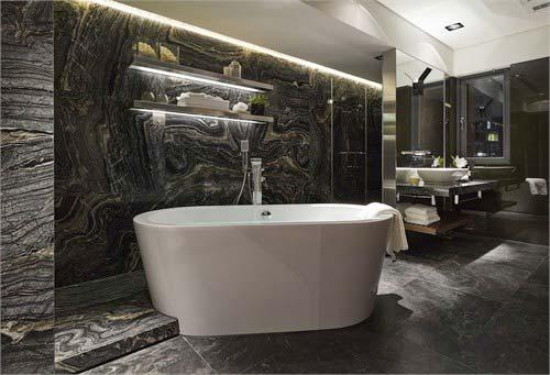 现代风格卫生间装修装饰效果图