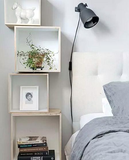 创意卧室床头柜效果图