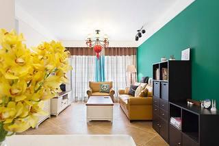 110平米混搭风格客厅图片