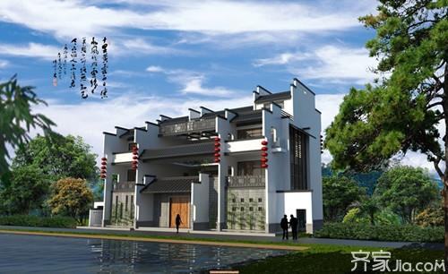 新中式建筑特点 新中式建筑的未来图片