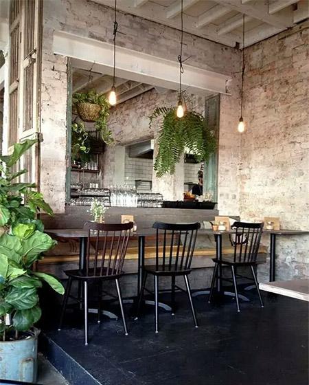 现代西餐厅装修效果图