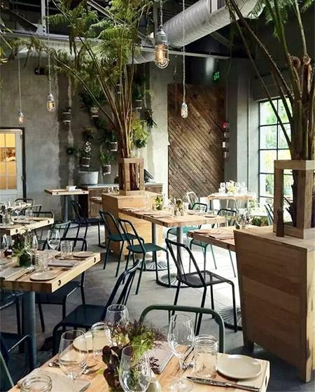 怡景西餐厅装修设计