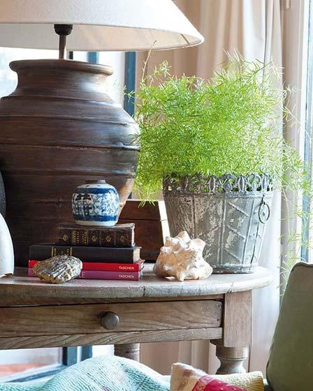 100㎡田园风两居室设计图片