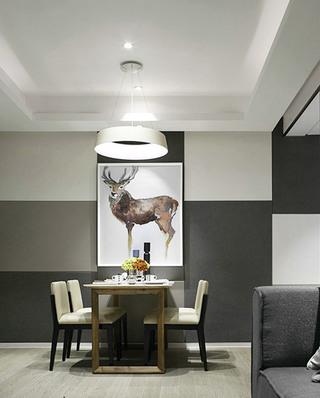 北欧风情餐厅墙面设计