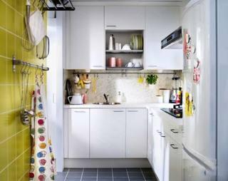 小户型厨房布置构造图