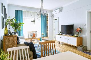 82㎡北欧两居室装修装饰效果图