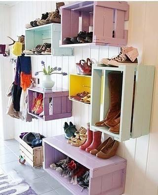玄关鞋柜布置图片大全