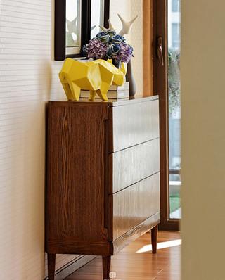 77平简约风格样板房展示柜设计
