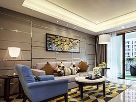 77平現代簡約風格樣板房裝修 散發青春活力