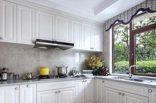 335平法式别墅厨房装潢图片