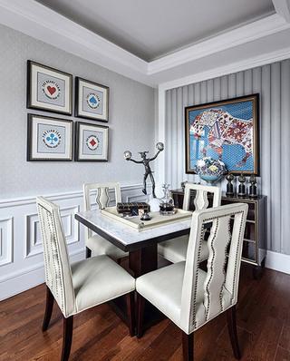 高贵古典法式别墅 休闲室效果图