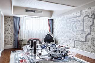 335平法式别墅游戏房装修